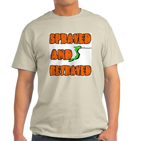 SPRAYED BETRAYED Light T-Shirt