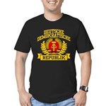 East Germany Coat of Arms Men's Fitted T-Shirt (da