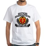 East Germany Coat of Arms White T-Shirt