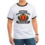 East Germany Coat of Arms Ringer T