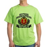 East Germany Coat of Arms Green T-Shirt