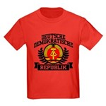 East Germany Coat of Arms Kids Dark T-Shirt
