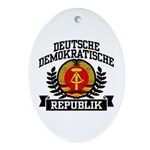 East Germany Coat of Arms Ornament (Oval)