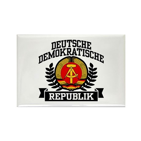 East Germany Coat of Arms Rectangle Magnet