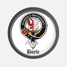 Boyle Clan Badge Crest Wall Clock