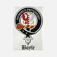 Boyle Clan Badge Crest Rectangle Magnet
