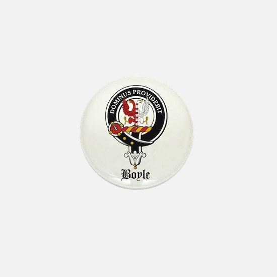 Boyle Clan Badge Crest Mini Button