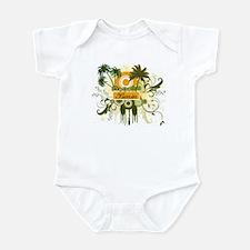 Palm Tree Benin Infant Bodysuit