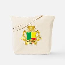 Gold Benin Tote Bag
