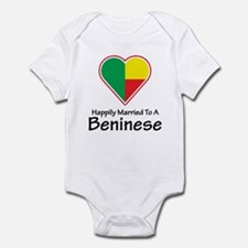 Happily Married Beninese Infant Bodysuit