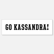 Go Kassandra Bumper Car Car Sticker