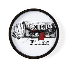 Ed Chigliak Films Wall Clock