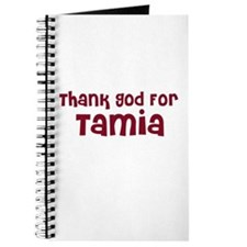 Thank God For Tamia Journal