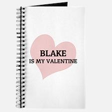 Blake Is My Valentine Journal