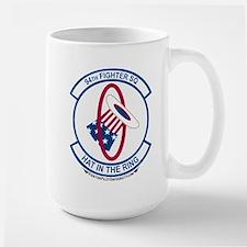 94th FS Large Mug