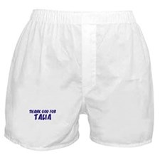Thank God For Talia Boxer Shorts