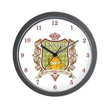 Know It All Garfield Wall Clock