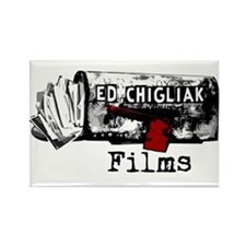 Ed Chigliak Films Rectangle Magnet