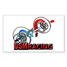 DSM Turbo Racing Rectangle Decal