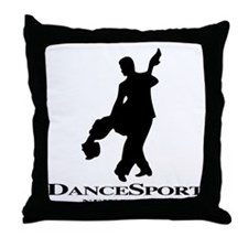 Couple Silhoutte DS NY Throw Pillow