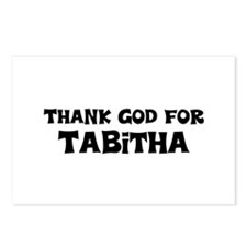 Thank God For Tabitha Postcards (Package of 8)