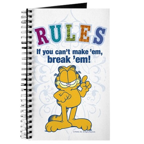 Break 'em Garfield Journal