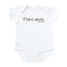 Pancakes. Nuff Said Infant Bodysuit