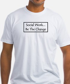 Social Work... Be The Change Shirt