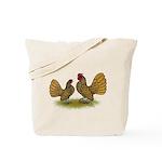 Sebright Golden Bantams Tote Bag