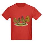 Sebright Golden Bantams Kids Dark T-Shirt