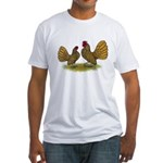 Sebright Golden Bantams Fitted T-Shirt