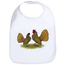Sebright Golden Bantams Bib