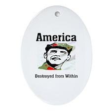 COMMUNIST LEADER Ornament (Oval)