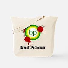 Boycott Petrolem Tote Bag