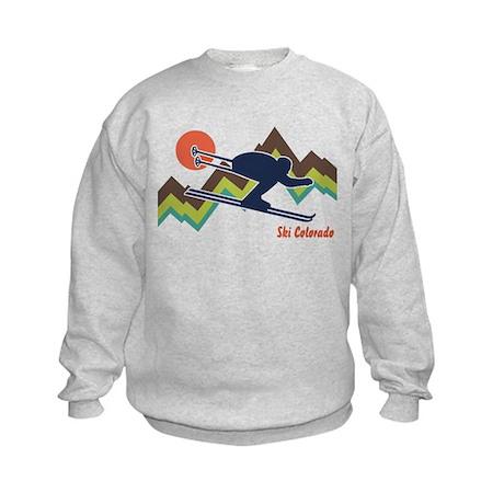 Ski Colorado Kids Sweatshirt