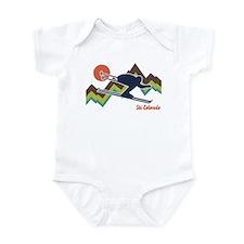 Ski Colorado Infant Bodysuit