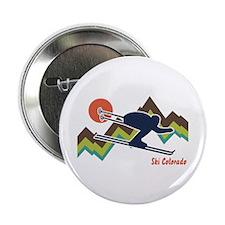 """Ski Colorado 2.25"""" Button"""