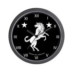 Meridies Populace Badge Wall Clock