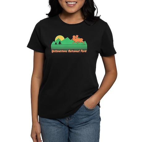 Yellowstone National Park Women's Dark T-Shirt