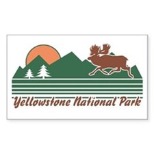 Yellowstone National Park Decal