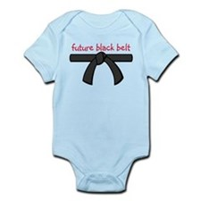 Future Black Belt Onesie