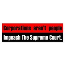 Supremely Corrupt Bumper Sticker
