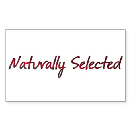 Naturally Selected Sticker (Rectangle)