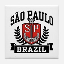 Sao Paulo Brazil (State) Tile Coaster