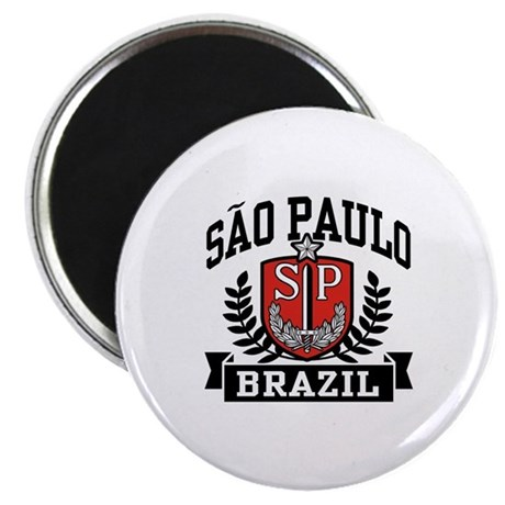 Sao Paulo Brazil (State) Magnet