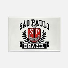 Sao Paulo Brazil (State) Rectangle Magnet