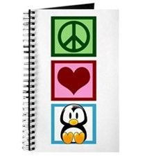 Peace Love Penguins Journal