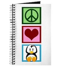 Peace Love Penguins Journal