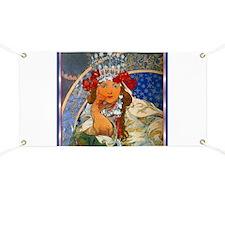 Alphonse Mucha Banner