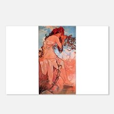 Alphonse Mucha Postcards (Package of 8)